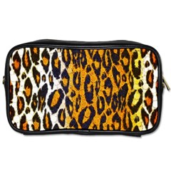 Cheetah Abstract Pattern  Toiletries Bags