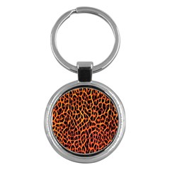 Lava Abstract Pattern  Key Chains (round)  by OCDesignss