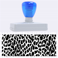 Lava Abstract Pattern  Rubber Address Stamps (xl)