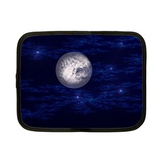 Moon And Stars Netbook Case (small)  by theunrulyartist