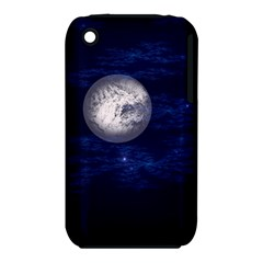 Moon And Stars Apple Iphone 3g/3gs Hardshell Case (pc+silicone) by theunrulyartist