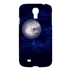 Moon And Stars Samsung Galaxy S4 I9500/i9505 Hardshell Case by theunrulyartist