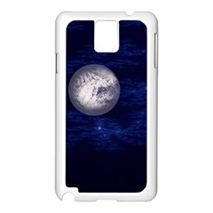 Moon And Stars Samsung Galaxy Note 3 N9005 Case (white) by theunrulyartist
