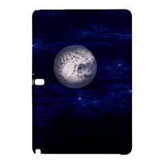Moon And Stars Samsung Galaxy Tab Pro 12 2 Hardshell Case by theunrulyartist