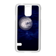 Moon And Stars Samsung Galaxy S5 Case (white) by theunrulyartist