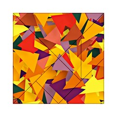 Geo Fun 8 Colorful Acrylic Tangram Puzzle (6  X 6 ) by MoreColorsinLife