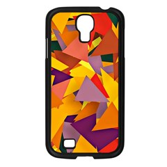 Geo Fun 8 Colorful Samsung Galaxy S4 I9500/ I9505 Case (black) by MoreColorsinLife