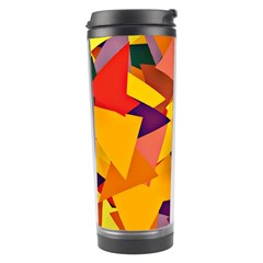 Geo Fun 8 Colorful Travel Tumblers by MoreColorsinLife