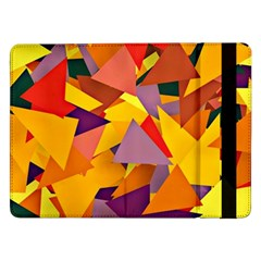 Geo Fun 8 Colorful Samsung Galaxy Tab Pro 12 2  Flip Case by MoreColorsinLife