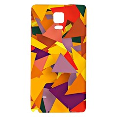Geo Fun 8 Colorful Galaxy Note 4 Back Case