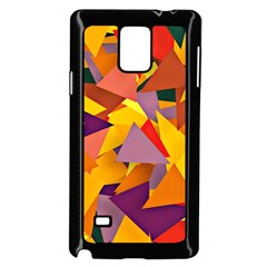 Geo Fun 8 Colorful Samsung Galaxy Note 4 Case (Black) by MoreColorsinLife