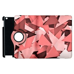 Geo Fun 8 Peach Apple iPad 3/4 Flip 360 Case by MoreColorsinLife