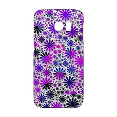 Lovely Allover Flower Shapes Pink Galaxy S6 Edge by MoreColorsinLife