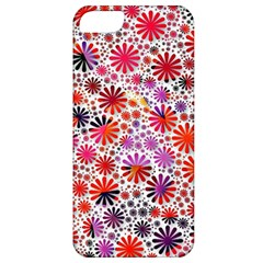 Lovely Allover Flower Shapes Apple Iphone 5 Classic Hardshell Case by MoreColorsinLife