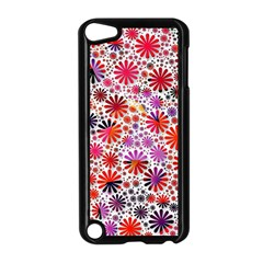 Lovely Allover Flower Shapes Apple Ipod Touch 5 Case (black) by MoreColorsinLife