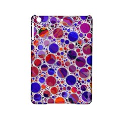 Lovely Allover Hot Shapes Blue iPad Mini 2 Hardshell Cases by MoreColorsinLife