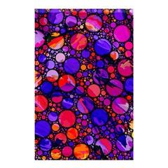 Lovely Allover Hot Shapes Shower Curtain 48  X 72  (small)  by MoreColorsinLife