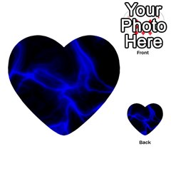 Cosmic Energy Blue Multi Purpose Cards (heart)