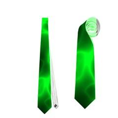 Cosmic Energy Green Neckties (two Side)