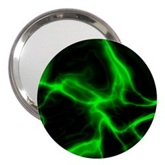 Cosmic Energy Green 3  Handbag Mirrors by ImpressiveMoments