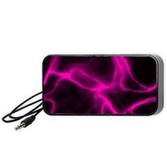 Cosmic Energy Pink Portable Speaker (Black)