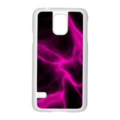 Cosmic Energy Pink Samsung Galaxy S5 Case (white) by ImpressiveMoments