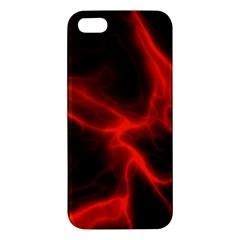 Cosmic Energy Red iPhone 5S Premium Hardshell Case
