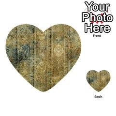 Beautiful  Decorative Vintage Design Multi Purpose Cards (heart)