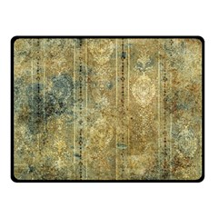 Beautiful  Decorative Vintage Design Double Sided Fleece Blanket (small)  by FantasyWorld7