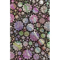 Sweet Allover 3d Flowers 5 5  X 8 5  Notebooks by MoreColorsinLife