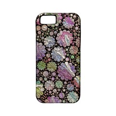 Sweet Allover 3d Flowers Apple Iphone 5 Classic Hardshell Case (pc+silicone) by MoreColorsinLife