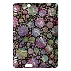 Sweet Allover 3d Flowers Kindle Fire HDX Hardshell Case by MoreColorsinLife