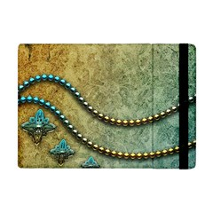Elegant Vintage With Pearl Necklace Apple Ipad Mini Flip Case by FantasyWorld7