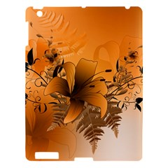 Awesome Summer  Flowers In Soft Red And Yellow Apple Ipad 3/4 Hardshell Case by FantasyWorld7