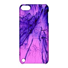 Special Fireworks Pink,blue Apple Ipod Touch 5 Hardshell Case With Stand by ImpressiveMoments