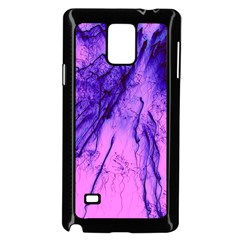 Special Fireworks Pink,blue Samsung Galaxy Note 4 Case (black) by ImpressiveMoments