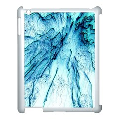 Special Fireworks, Aqua Apple Ipad 3/4 Case (white) by ImpressiveMoments