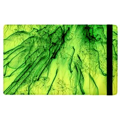 Special Fireworks, Green Apple Ipad 2 Flip Case by ImpressiveMoments
