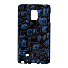 Metalart 23 Blue Galaxy Note Edge by MoreColorsinLife