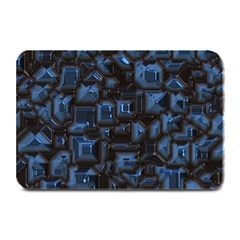 Metalart 23 Blue Plate Mats by MoreColorsinLife
