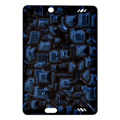 Metalart 23 Blue Kindle Fire HD (2013) Hardshell Case by MoreColorsinLife