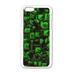 Metalart 23 Green Apple Iphone 6 White Enamel Case