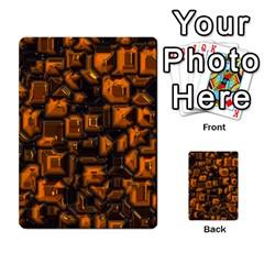 Metalart 23 Orange Multi Purpose Cards (rectangle)