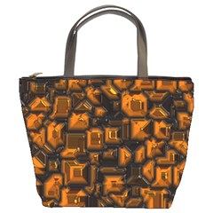 Metalart 23 Orange Bucket Bags by MoreColorsinLife