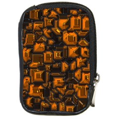 Metalart 23 Orange Compact Camera Cases by MoreColorsinLife