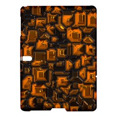 Metalart 23 Orange Samsung Galaxy Tab S (10 5 ) Hardshell Case  by MoreColorsinLife
