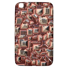Metalart 23 Peach Samsung Galaxy Tab 3 (8 ) T3100 Hardshell Case  by MoreColorsinLife
