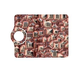 Metalart 23 Peach Kindle Fire Hd (2013) Flip 360 Case by MoreColorsinLife