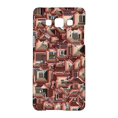 Metalart 23 Peach Samsung Galaxy A5 Hardshell Case  by MoreColorsinLife