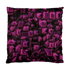 Metalart 23 Pink Standard Cushion Case (one Side)  by MoreColorsinLife